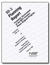 98-3 Planning Report Economic Assessment... by Marx, Michael L.