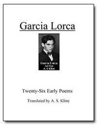 Early Poems of Garcia Lorca by Lorca, Garcia