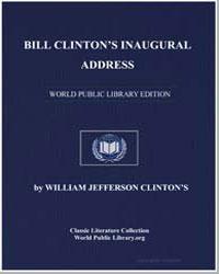Bill Clinton's Inaugural Address by Clinton, William Jefferson