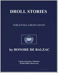 Droll Stories by De Balzac, Honore