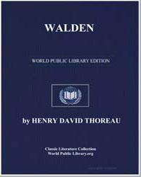 Walden by Thoreau, Henry David