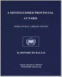 A Distinguished Provincial at Paris by De Balzac, Honore