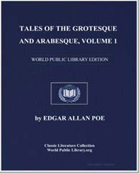 Tales of the Grotesque and Arabesque, Vo... by Poe, Edgar Allan