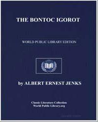The Bontoc Igorot by Jenks, Albert Ernest