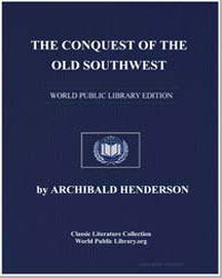 The Conquest of the Old Southwest by Henderson, Archibald
