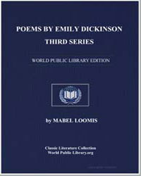 Poems by Dickinson, Emily