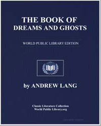 The Book of Dreams and Ghosts by Lang, Andrew