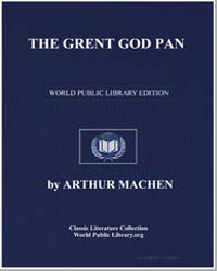 The Great God Pan by Machen, Arthur