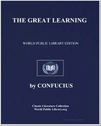 The Great Learning by Confucius
