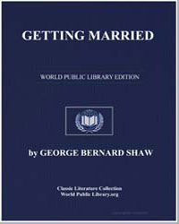 Getting Married by Shaw, George Bernard