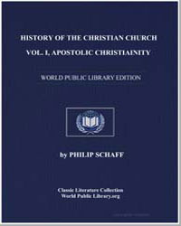 History of the Christian Church, Vol. I.... by Schaff, Philip
