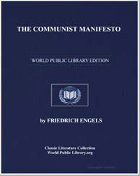 The Communist Manifesto by Engels, Friedrich, Editor