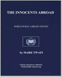 The Innocents Abroad by Twain, Mark