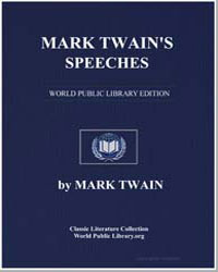 Mark Twain's Speeches by Twain, Mark