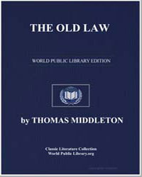 The Old Law by Middleton, Thomas