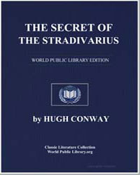 The Secret of the Stradivarius by Conway, Hugh