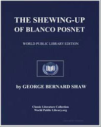 The Shewing-Up of Blanco Posnet by Shaw, George Bernard