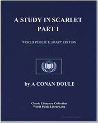 A Study in Scarlet by Doyle, Sir Arthur Conan