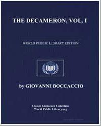 The Decameron, Volume I by Boccaccio, Giovanni