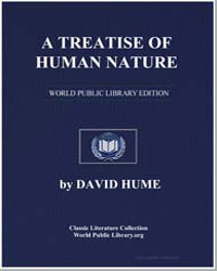 A Treatise of Human Nature by Hume, David