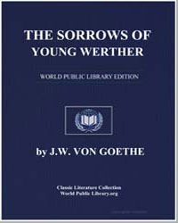 The Sorrows of Young Werther by Von Goethe, Johann Wolfgang