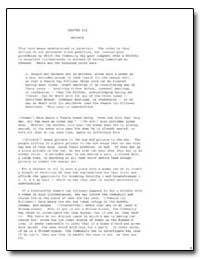 Chapter Six : Aniyata by