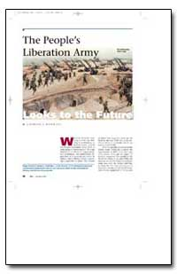 The Peoples Liberation Army by Hawkins, Charles F.