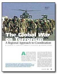 The Global War on Terrorism a Regional A... by Cardinal, Charles N.