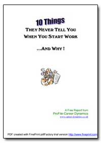 10 Things They Never Tell You When You S... by