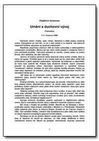 Umni a Duchovni Vyvoj by Antonov, Vladimir, Ph. D.