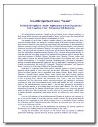Scientific Spiritual Center Swami' by Antonov, Vladimir, Ph. D.