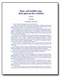 Raja - and Buddhi - Yoga: Their Place in... by Antonov, Vladimir, Ph. D.