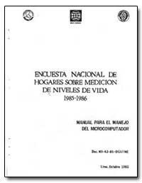 Encuesta Nacional de Hogares Sobre Medic... by The World Bank