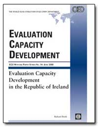 Evaluation Capacity Development in the R... by Boyle, Richard