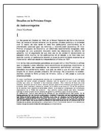 Desafios en la Proxima Etapa de Anti-Cor... by Kaufmann, Daniel