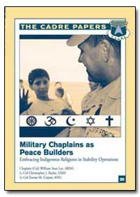 Military Chaplains as Peace Builders Emb... by Lee, William Sean