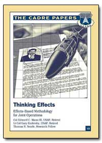 Thinking Effects Effects-Based Methodolo... by Mann, Edward C., Iii