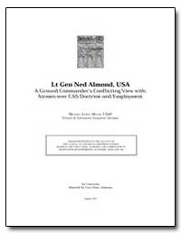 Lt Gen Ned Almond : A Ground Commander's... by Lewis, Michael