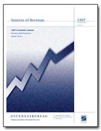 Sources of Revenue by U. S. Census Bureau Department