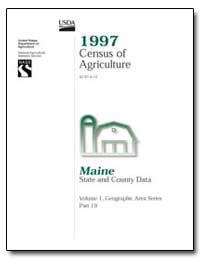 1997 Census of Agriculture : Maine by U. S. Census Bureau Department