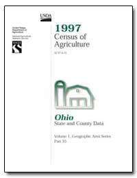 1997 Census of Agriculture : Ohio by U. S. Census Bureau Department