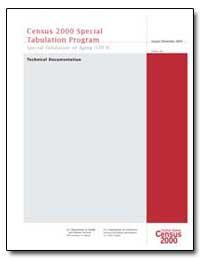 Census 2000 Special Tabulation Program by U. S. Census Bureau Department