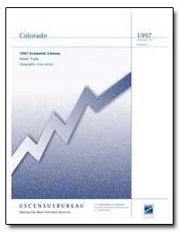 Colorado 1997 Economic Census Retail Tra... by Mallett, Robert L.