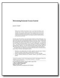 Determining Economic Census Content by Dodds, Judy M.