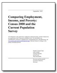 Comparing Employment, Income, And Povert... by Clark, Sandra Luckett