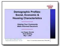 Demographic Profiles : Social, Economic ... by U. S. Census Bureau Department