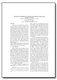 Statistical Modeling of Stochastic Level... by Trimbur, Thomas M.