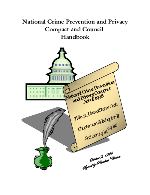 National Crime Prevention and Privacy Compact and Council