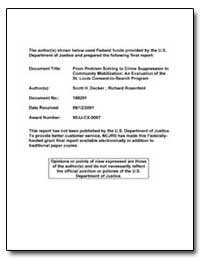 Federal Funds Provided by the U. S. Depa... by Decker, Scott H.