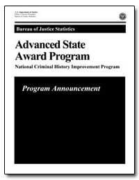 Bureau of Justice Statistics : Advanced ... by Chaiken, Jan M., Ph. D.